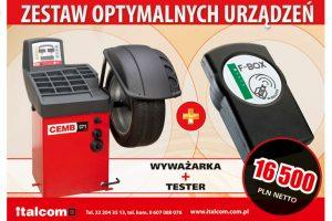 Promocja zestawu urządzeń warsztatowych w Italcom