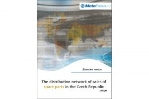 Raport: The distribution network of sales of spare parts in the Czech Republic - 2011/2010
