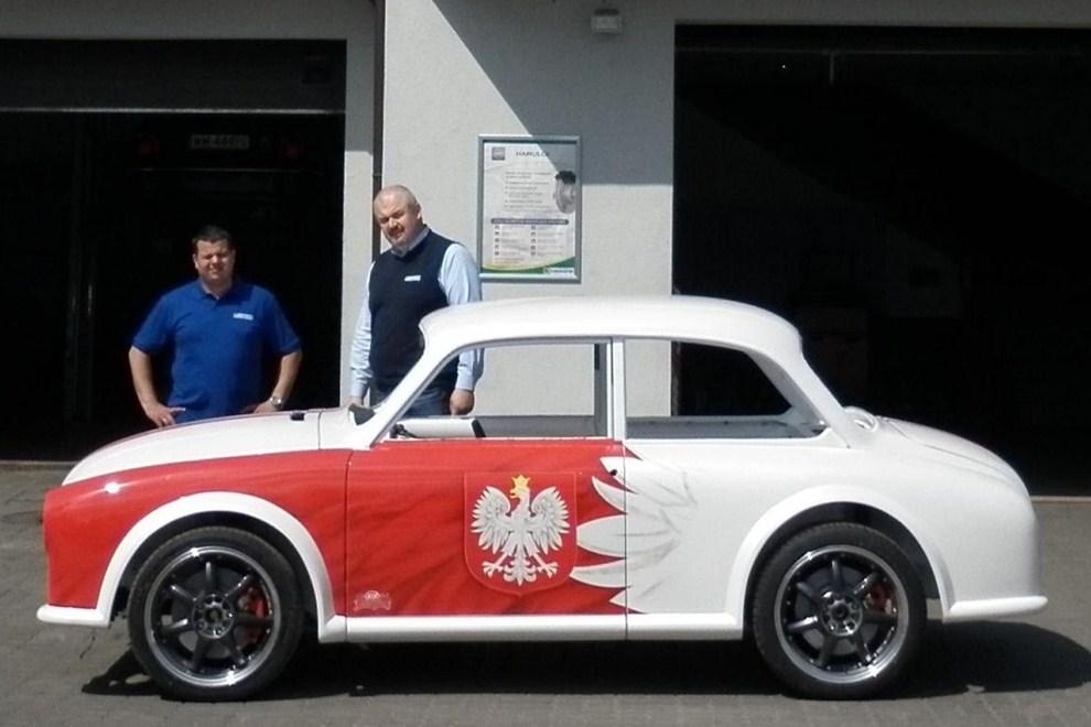 Syrena Automaskotką Euro 2012 Motofocus Pl