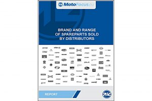 Raport: Brands and range of spare parts sold by distributors in Czech Republic