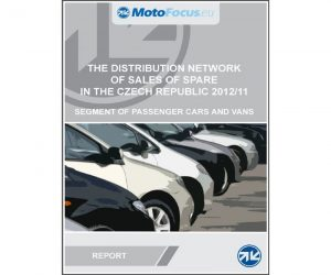 Raport: The distribution network of sales of spare parts Czech Republic – passenger cars segment