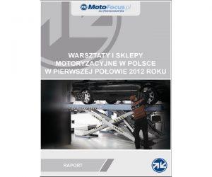 Raport: Warsztaty i sklepy motoryzacyjne w Polsce w pierwszej połowie 2012 roku