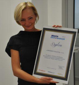MotoInnowacje 2012 – dyplomy wręczone!
