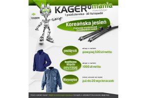 Promocja wycieraczek Clearmaker Kager