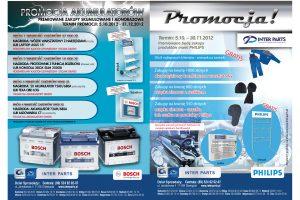 Akumulatory Bosch i produkty Philips w promocji Inter Parts