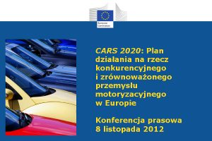 Nieprecyzyjne CARS 2020