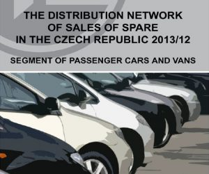 The distribution network of sales of spare parts Czech Republic