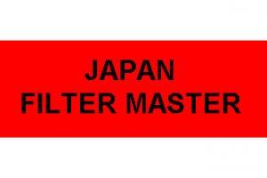 Nowości Japan Filter Master