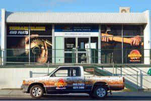Nowy magazyn Terrain Tamer w Tasmanii
