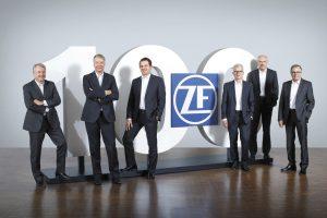 100-lecie ZF Friedrichshafen AG – historia marki