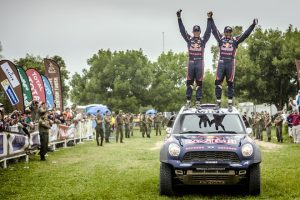 Wały i półosie GKN w pojazdach zwycięzców rajdu Dakar 2015