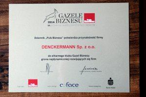 Gazela Biznesu dla Denckermanna