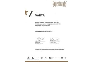 Superbrands dla marki Varta