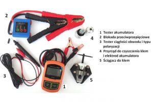 Zestaw do obsługi akumulatorów BSM Kit wofercie Italcom