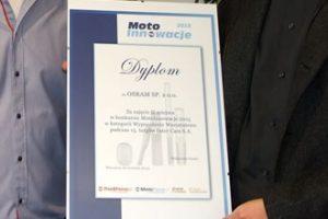 MotoInnowacje 2015 – wręczenie dyplomów