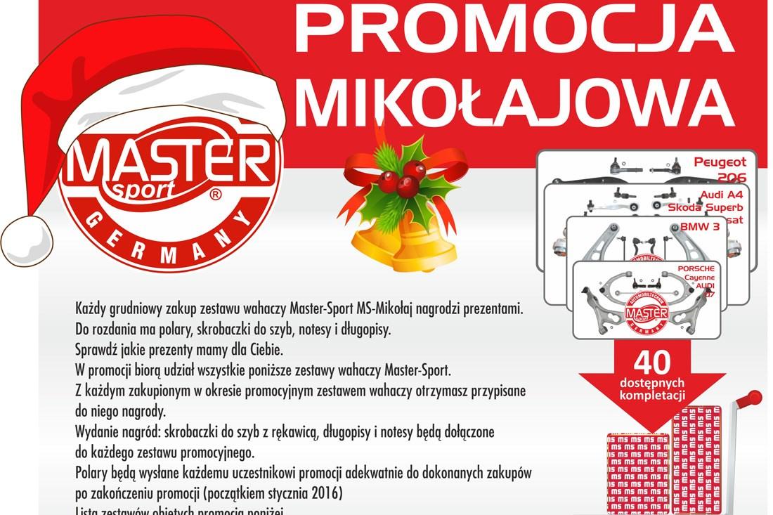 Zimowa promocja Master-Sport