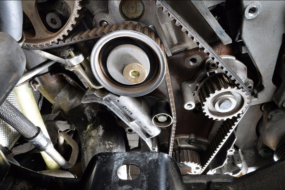 Instrukcja Wymiany Rozrządu W Samochodzie Audi A3 18t O Kodzie