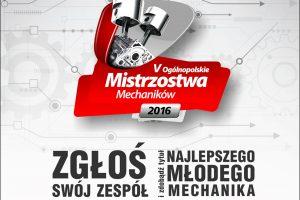 Zapisy do 5. edycji Mistrzostw Mechaników