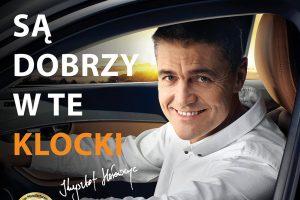 Krzysztof Hołowczyc w reklamie klocków Breck