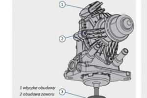 Montaż zaworu EGR w BMW