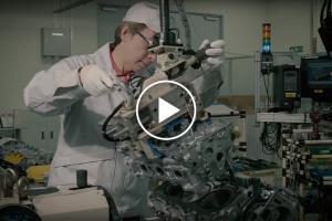 Ręczne składanie silnika do Nissana GT-R