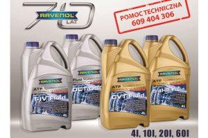 Nowe instrukcje serwisu olejowego do produktów Ravenol