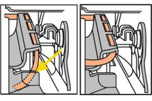 Świecąca się kontrolka poduszki powietrznej wOplu Astra J