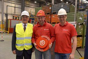 100-milionowa tarcza hamulcowa opuszcza fabrykę w Dąbrowie Górniczej