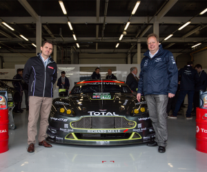 Globalne partnerstwo Aston Martin i TOTAL