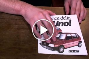 Niezwykła reklama Fiata Uno z lat 80. - film