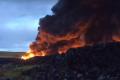 Płonie największe w Europie dzikie składowisko opon