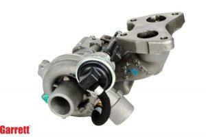 Test turbosprężarki Honeywell Garrett i jej kopii