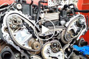 Układ rozrządu w silniku 3.0 TDI