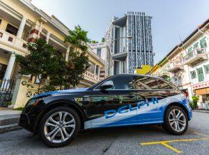Firma Delphi dostarczy pojazdy autonomiczne dla Zarządu Transportu Lądowego w Singapurze