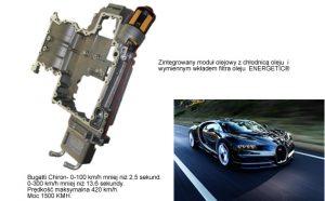 Filtr oleju do 1500-konnego Bugatti
