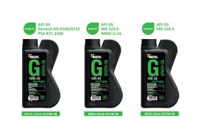Bizol Green Oil specjalnie dla silników z systemem start-stop