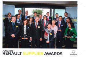 Dostawca lakierów z nagrodą od Renault