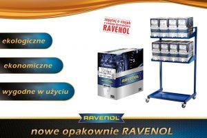 Ravenol wprowadza opakowania Bag in Box wraz ze stojakiem