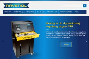 Nowa strona internetowa polskiego dystrybutora olejów