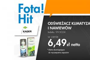FOTA HIT – Kager odświeżacz klimatyzacjii nawiewów – w atrakcyjnej cenie!