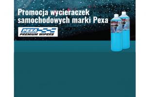 Promocja wycieraczek samochodowych marki PEXA