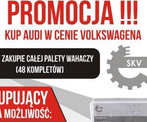 Promocja zestawów wahaczy marki SKV