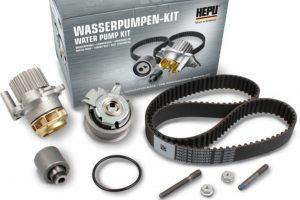 HEPU XT-Professional – poszerzone kompletne zestawy rozrządu