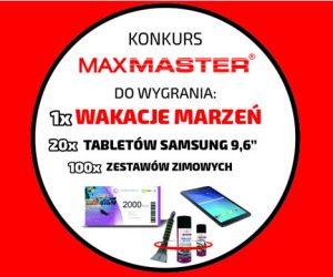 Wakacje marzeń za zakupy produktów MaxMaster
