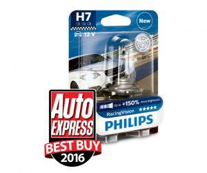 Żarówki Philips RacingVision zwyciężają w teście drogowym