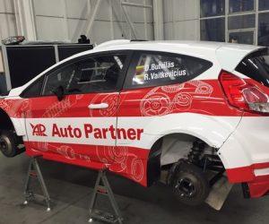 Auto Partner SA na Rajdzie Barbórka 2016