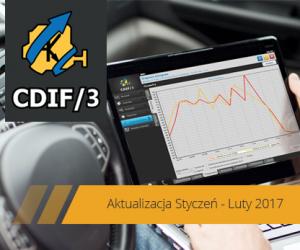 Aktualizacja systemu diagnostycznego CDIF/3