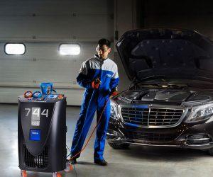 Urządzenie do klimatyzacji TEXA dedykowane do serwisów Mercedes Benz
