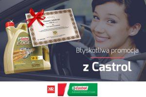 Bony na biżuterię za zakupy produktów Castrol w AP SA