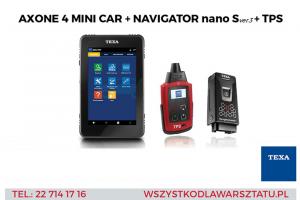 Promocyjna oferta na zestaw diagnostyczny TEXA w Inter Cars